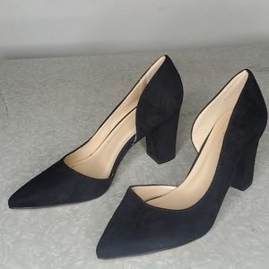 """ROUGE Black 3 1/4"""" Heels"""
